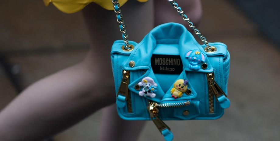 Moschino, Москіно, сумка, тренд сезону, модна сумка