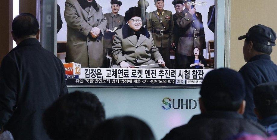 Лидер КНДР Ким Чен Ын / Фото: АР