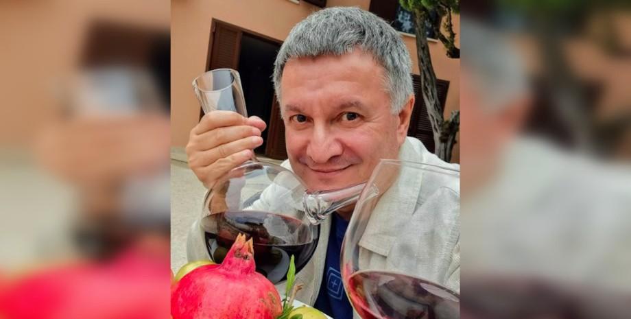 Арсен Аваков, МВД, вино, алкоголь, аваков пьет