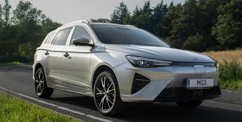 MG5 EV 2022, новый MG5 EV, универсал MG5 EV, электромобиль MG5, электромобиль MG