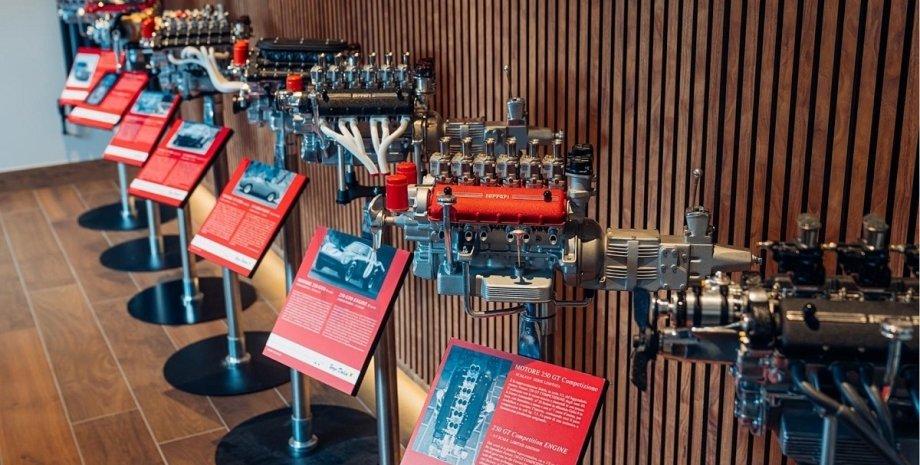 Моторы Ferrari, двигатели Ferrari, Ferrari V12, масштабные модели
