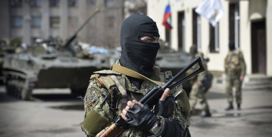 Боевик в Донбассе / Фото: news.sever-strasti.com