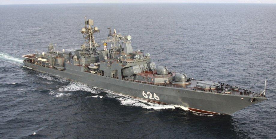 Испания не пустила российский эсминец в порт, российский эсминец не пустили в порт Испании, Вице-адмирал Кулаков