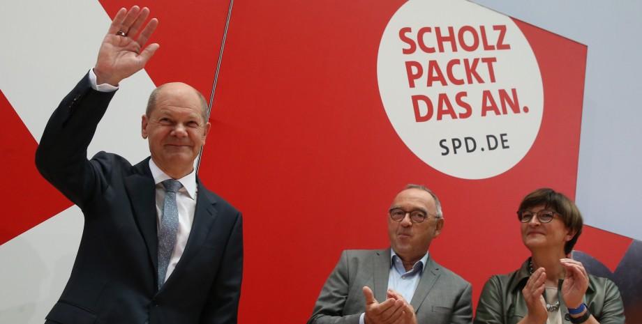 Олаф Шольц, выборы в Германии