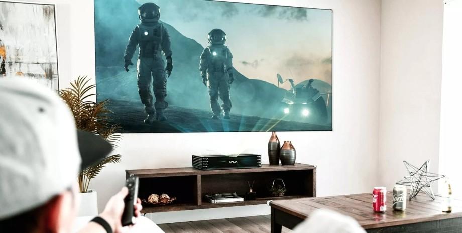 проектор, екран, дисплей, ТВ