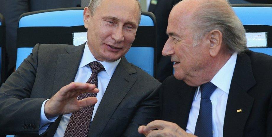 Владимир Путин и Йозеф Блаттер / Фото: Getty Images