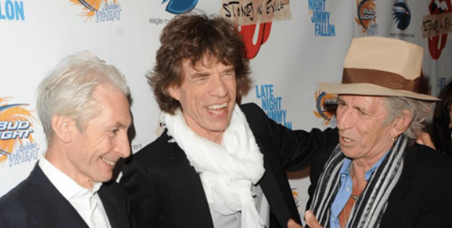 The Rolling Stones, Чарлі Уоттс, рок-група