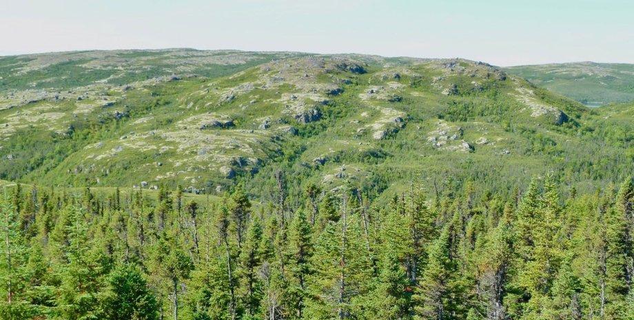 гори, Канада, протерозой