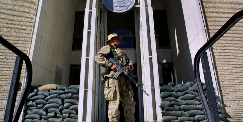 США, Кабул, посольство,