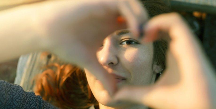 жест сердечко фото