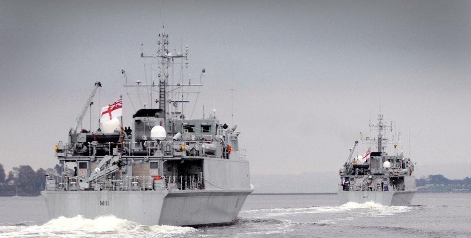 британські кораблі для України