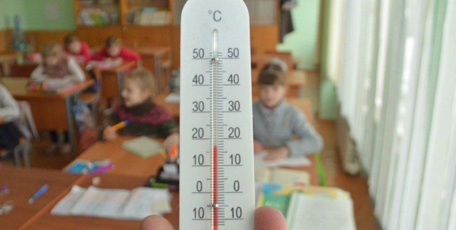 градусник школа, Опалювальний сезон 2021 Україна, Коли включать опалення 2021, Україна