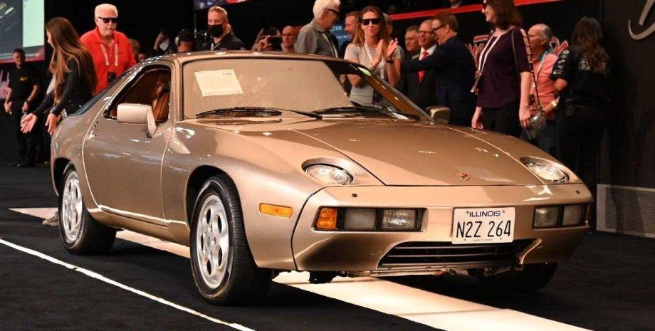 Porsche 928 1979 года, аукцион, машина Том Круза, экстерьер Порше 928
