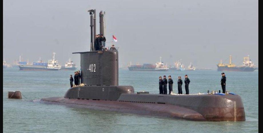 Подводная лодка, Nanggala 402, индонезия, фото