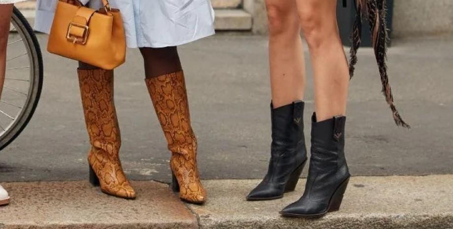 модні чоботи — тренди осені 2021