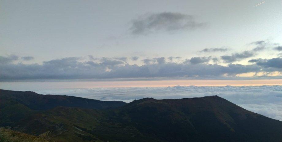 Карпаты, гора Поп Иван