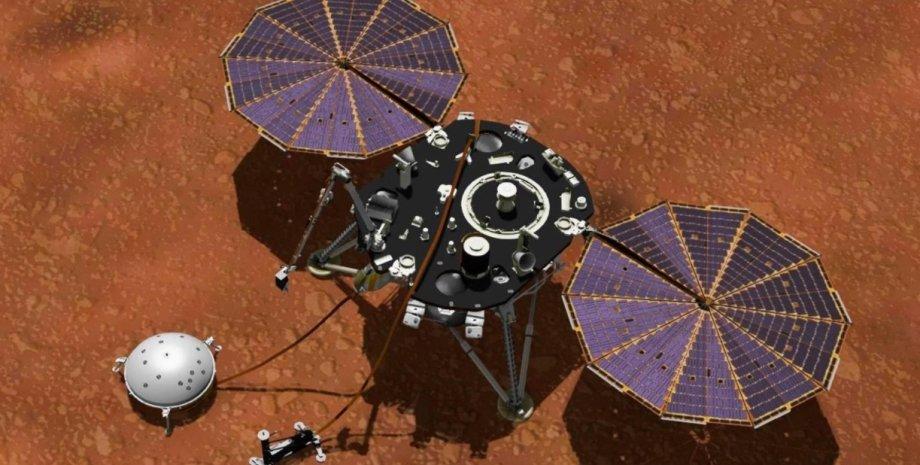 InSight, Марс, марсотрясіння