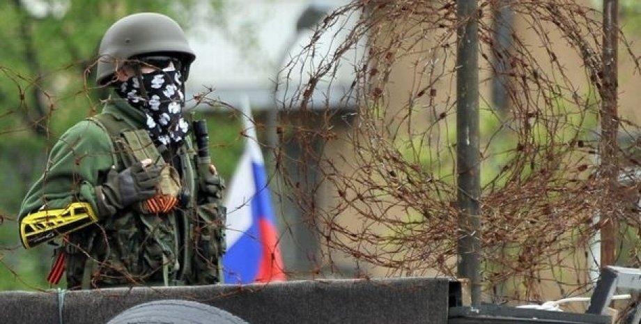 Боевик в Донбассе / Фото: AFP