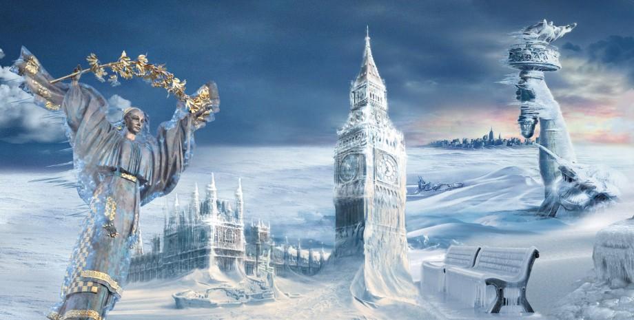зима в Украине 2022, экстремальные холода