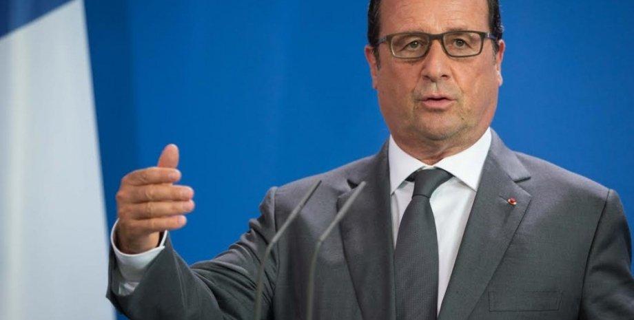 Франсуа Олланд / Фото пресс-службы президента Украины