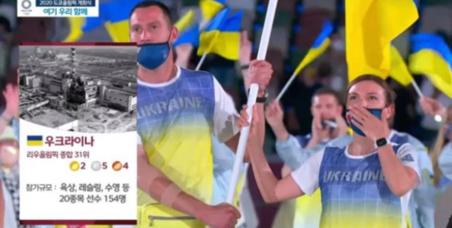 Олімпіада, Чорнобиль, українська збірна