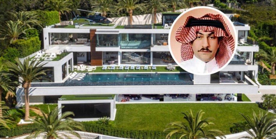 Фаваз Алхокейр со своей новой недвижимостью/Фото: Variety