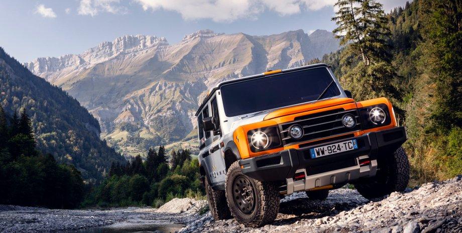 Ineos Grenadier, новий Ineos Grenadier, Land Rover Defender, клон Land Rover Defender, копія Land Rover Defender