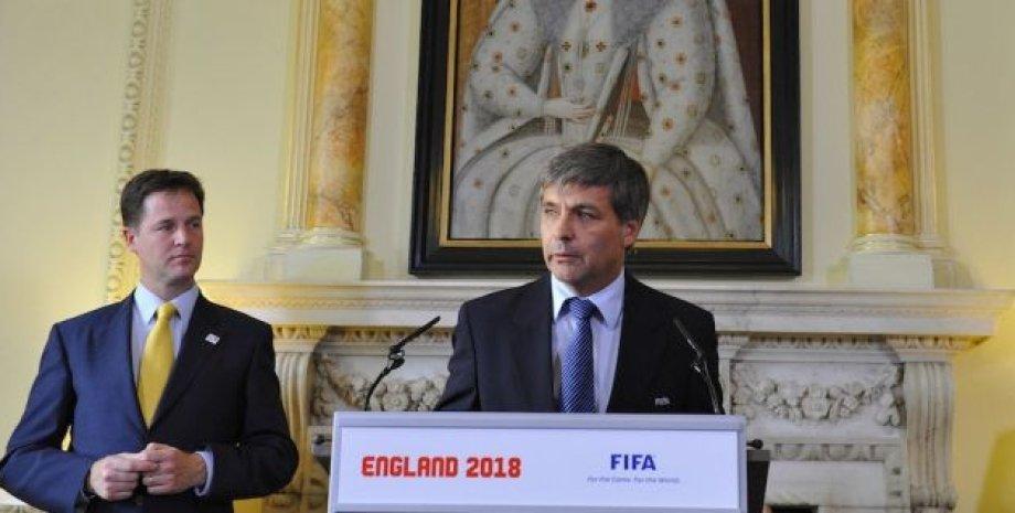 Харольд Мэйн-Николс / Фото: пресс-службы ФИФА