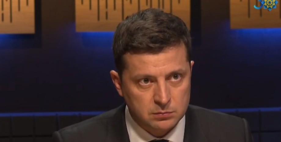Зеленский, интервью, Донбасс,