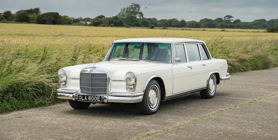 Аукцион Mercedes 600 Джорджа Харрисона