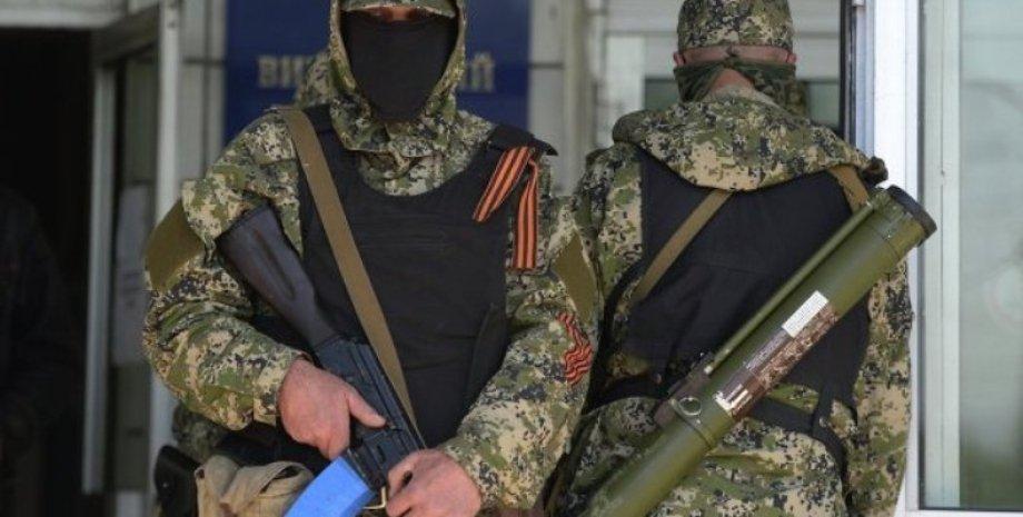 Боевики Донбасса / Фото: AFP
