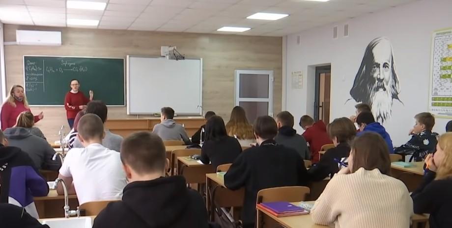 Київ, школа, Бандера, вчителька