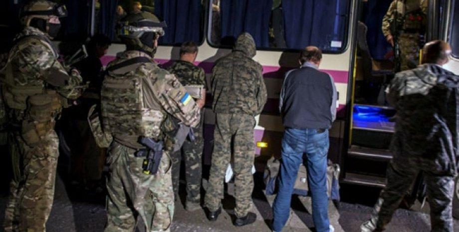 Обмен пленными в Донбассе / Фото: tribuna.ru