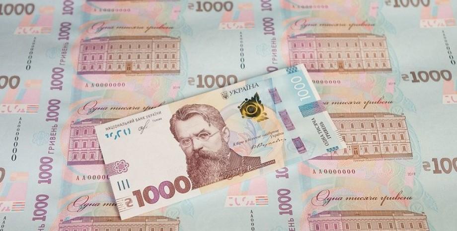 украинские деньги, деньги Украины, новые деньги