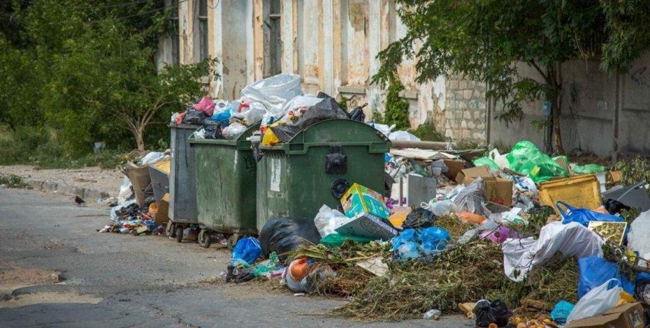 В Крыму катастрофическая ситуация из-за мусора