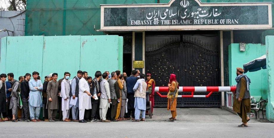 восстановление работы посольства, посольство ирана в афганистане.