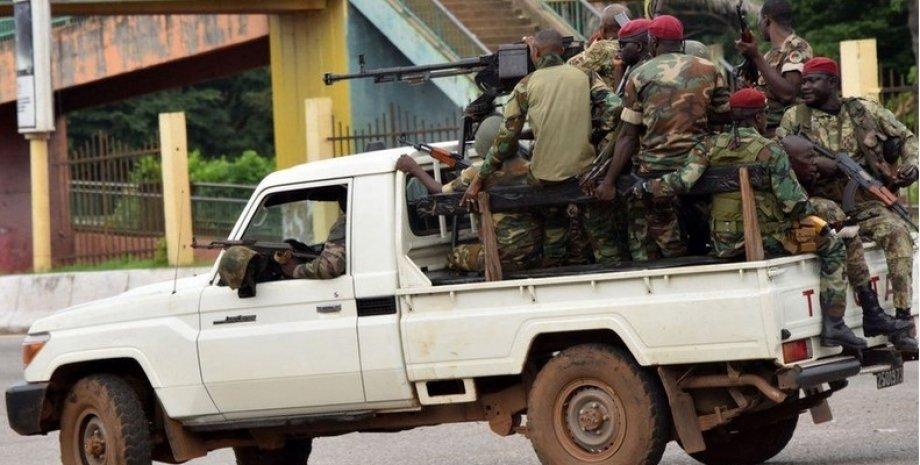 Военные Гвинея