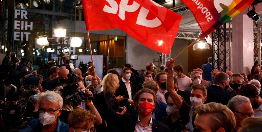 Германия, бундестаг, выборы,