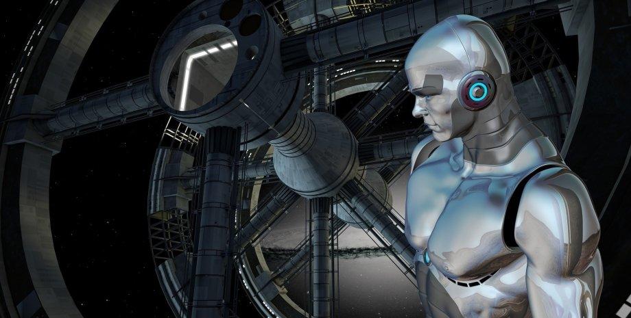 робот, бот, ИИ