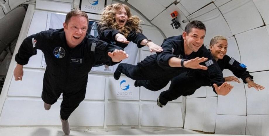 экипаж, Crew Dragon, фото