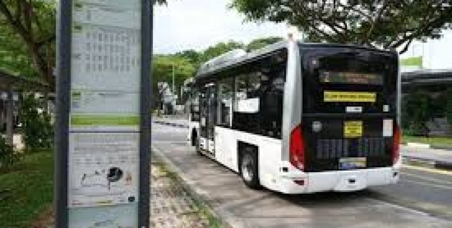 Сингапур, Беспилотный транспорт, беспилотный автобус, водители, Сингапур