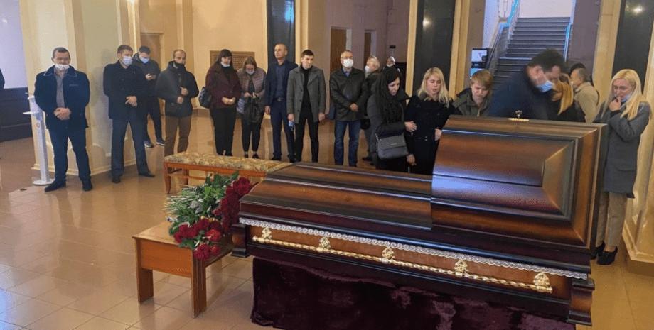 Антон Поляков, прощання