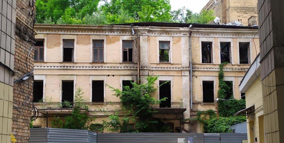 Київ, Грушевського, історичний будинок