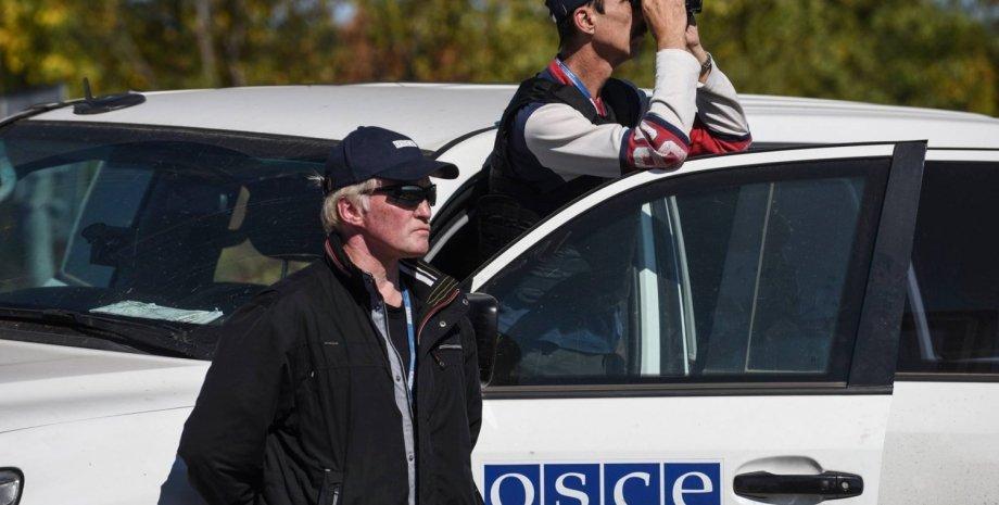 Наблюдатели ОБСЕ в Донбассе / Фото: Facebook