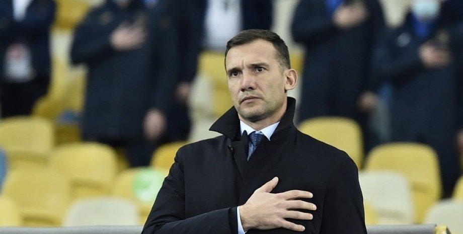 Андрій Шевченко, збірна України з футболу