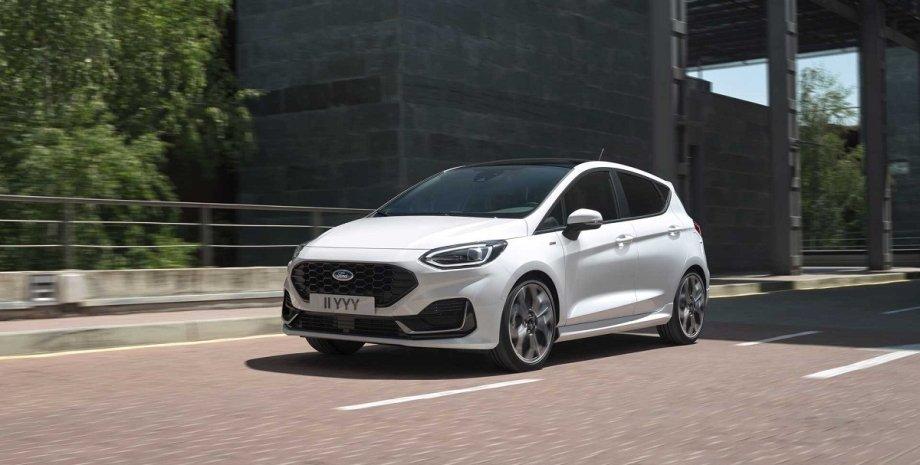 новий хетчбек Ford Fiesta, зовнішність, екстер'єр, нова Фієста