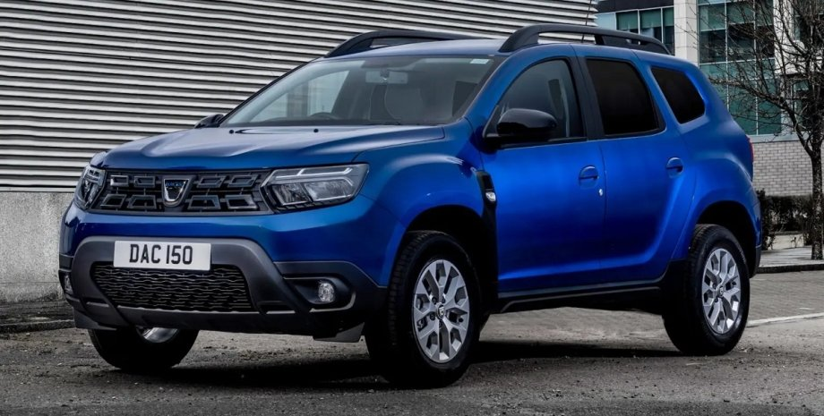 Новый Duster 2022, Новый Duster, Duster 2022, Dacia Duster