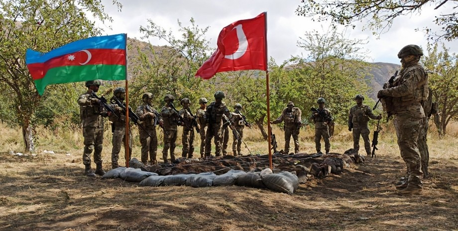 азербайджанско-турецкие учения