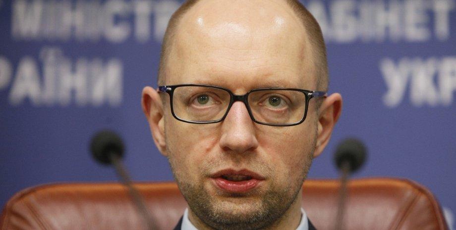 Арсений Яценюк / Фото: пресс-служба Кабмина