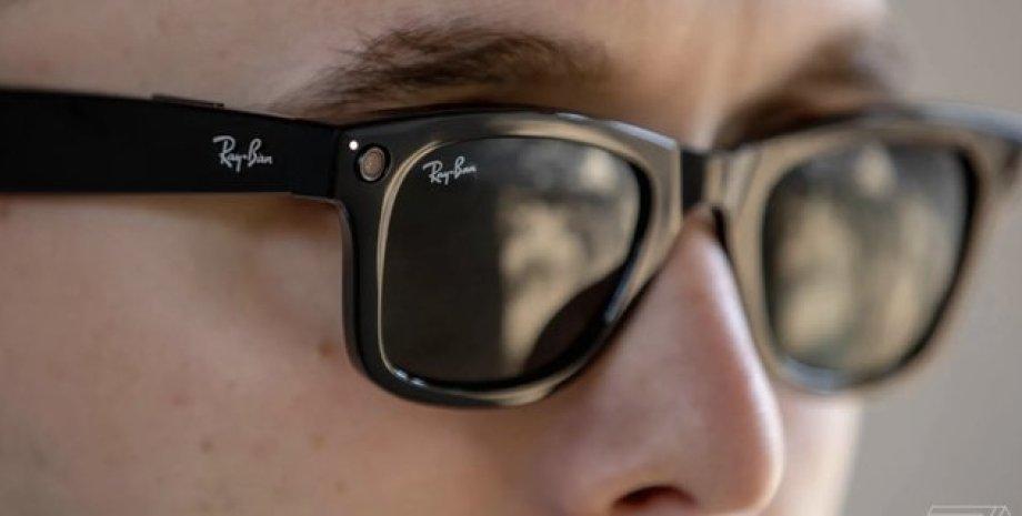 очки, facebook, ray-ban